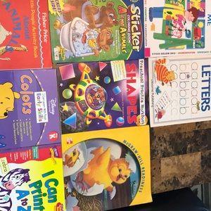 Children Learning activity  books lot 1